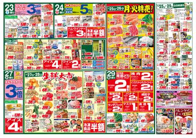 1/23(土)~1/29(金) 折込チラシ